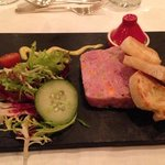                    ham hock terrine, yum yum