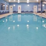 Relax and have fun in our heated indoor pool year round.