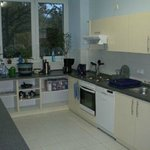 Commen, fully equipped kitchen with 5 fridges