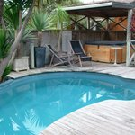                    Anchor Lodge Pool and Spa Pool..warm and heated
