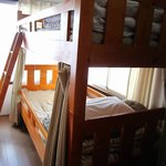 shared bunk bed room