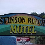 Stinson Beach Motel sign