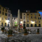 Anfiteatro square just around the corner