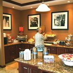 Breakfast Bar and Hostess