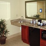 Studio Wet Bar Area