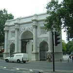                    The Marble Arch just outside the hotel