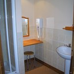 Modern en-suite bathrooms