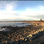 morning view from beachcam on Nova Scotia Webcams