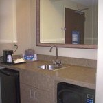 Spacious Suites Wet Bar Area