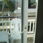 Broken 5 star patio door