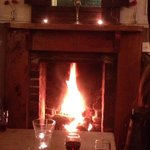 There's always a warm and genuine welcome at the Fountain Inn, whether its a cosy drink in the b