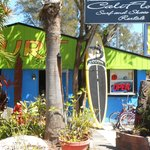  View From Gilligans to a Surf Shop Gift Store at Siesta Key Village