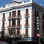  view from the road - corner of Egnatia &amp; Leontos Sofou (across from Starbucks)