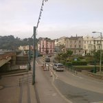 View from Dawlish railway Station