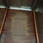  the floor of the elevator
