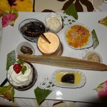  dessert gourmand