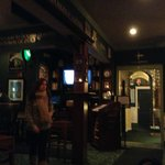  Inside the pub, pass through door to rooms
