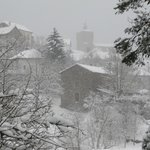                    The village of Isaba in the snow