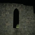                    Part of the ruin at night