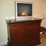                    Dated Television Set