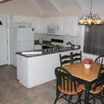                    The Kitchen and Dining room