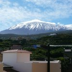 View of El Teide from the apartments
