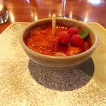  Desert, vanilla creme brulee