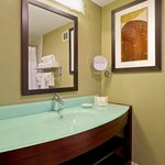  Spacious guest bathrooms with upgraded amenities