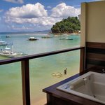 Private Jacuzzi on the balcony