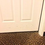 stains on the room doorway (223)