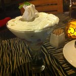 White Chocolate Brandy Trifle