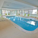 Swimming at Holiday Inn, Oakbrook Terrace, Chicago, IL