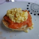  Smoked Salmon with Egg