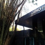 The only bit of the OSHO centre visible from the street