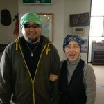 Koichi and his mum <3