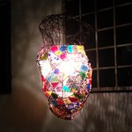 Nice handcrafted lamp - all by the owner!