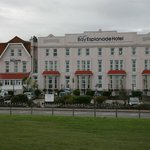 Hotel from the sea front