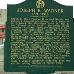 Joseph E. Warner Historical Marker