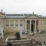 View of the Ashmolean Museaum from our room