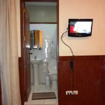  Bathroom and TV