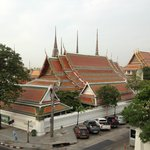View of Wat Pho from Bedroom