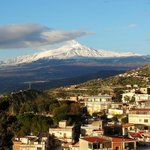  Mr Etna from room balcony