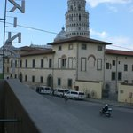  la vista dal balcone