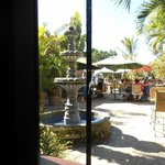 Patio at La Coronela at Hotel California, from our coner of the bar
