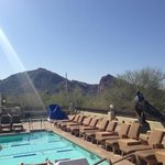  Spa Pool Area - Views of Camelback Mt and PHX