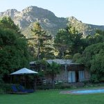 Thyme Cottage and the Swimming Pool at The Tarragon