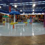 indoor part of water park