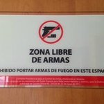  Zona LIbre de Armas