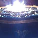                                      The outdoor firepit