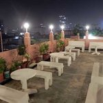 Rooftop Garden in Sunflower Guest house